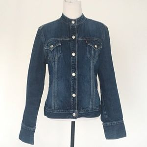 Levi's Dark Wash Denim Jacket